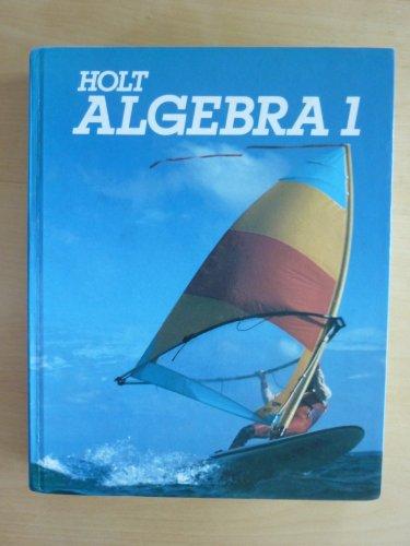9780030021626: Holt Algebra 1