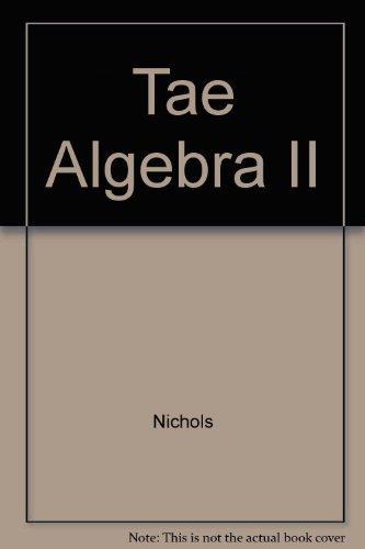 Holt Algebra 2 with Trigonometry Teacher's Edition: Nichols