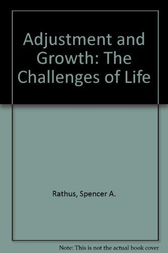 9780030024795: Adjustment and Growth: The Challenges of Life