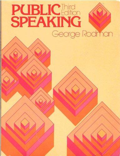 Public Speaking: Rodman, George