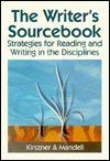9780030025938: The Writer's Sourcebook: Strategies for Reading and Writing in the Disciplines