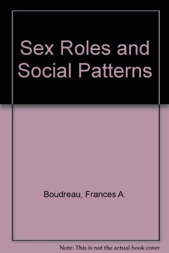9780030028540: Sex Roles and Social Patterns