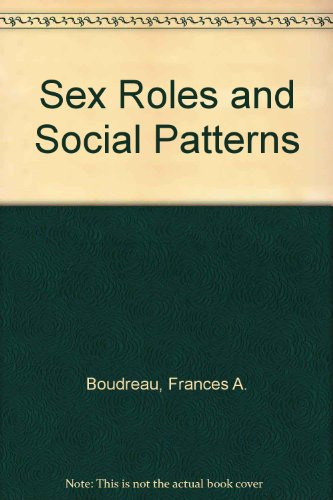 9780030028571: Sex Roles and Social Patterns