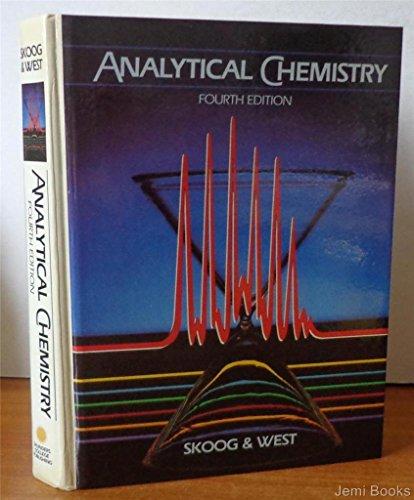 9780030029547: Analytical Chemistry: An Introduction (Saunders golden sunburst series)