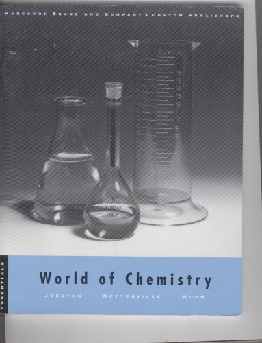 9780030031328: World of Chemistry