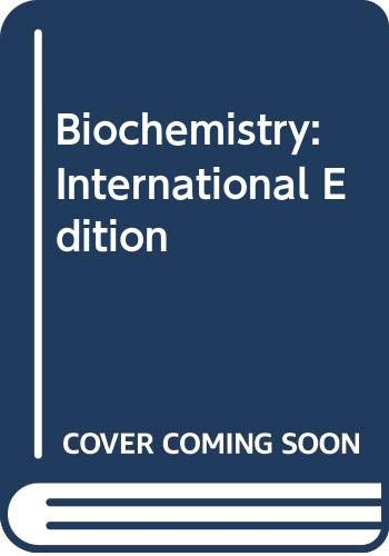 9780030031434: Biochemistry: International Edition
