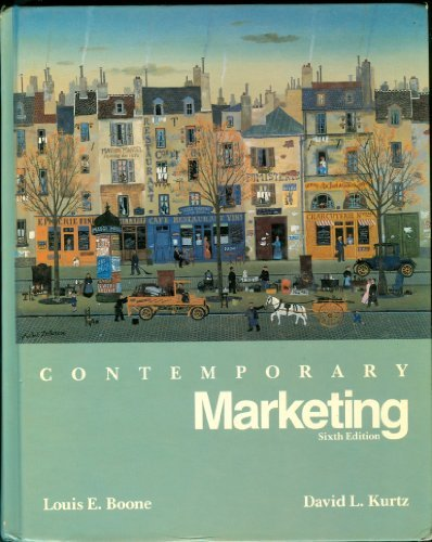 9780030031892: Contemporary Marketing (The Dryden Press series in marketing)