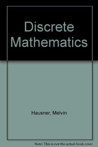 9780030032783: Discrete Mathematics