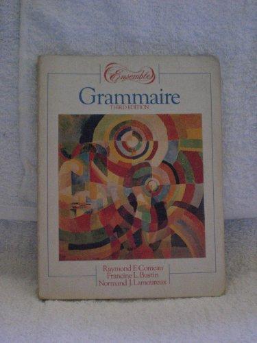 9780030033087: Ensemble: Grammaire