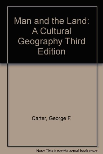 9780030034268: Man and the Land: A Cultural Geography