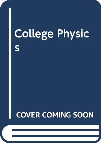9780030035647: College Physics, Study Guide