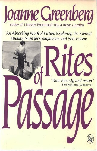Rites of Passage (0030036771) by Joanne Greenberg