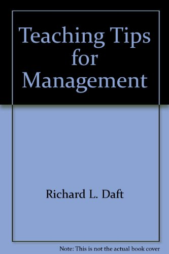 9780030039843: Teaching Tips for Management