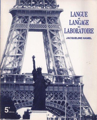9780030040429: Langue et Langage au Laboratoire