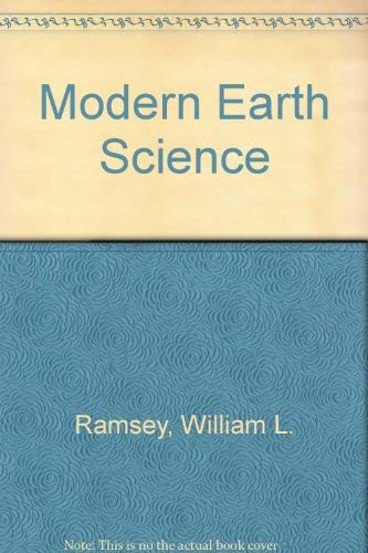 Modern Earth Science: Ramsey, William L.,
