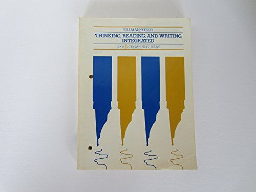 9780030044878: Thinking, Reading and Writing: Intergrated Book 1 : Organizing Issues (Bk.1)