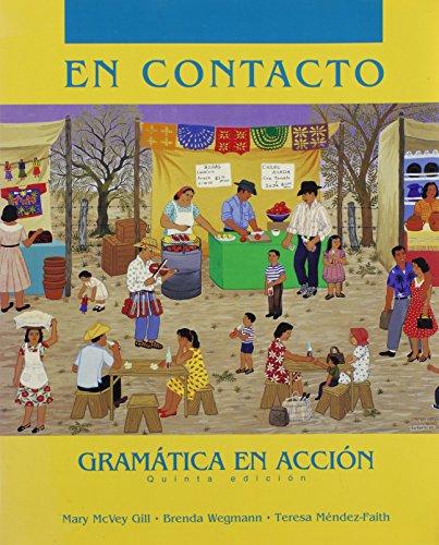 9780030046186: En Contacto: Gramatica En Accion