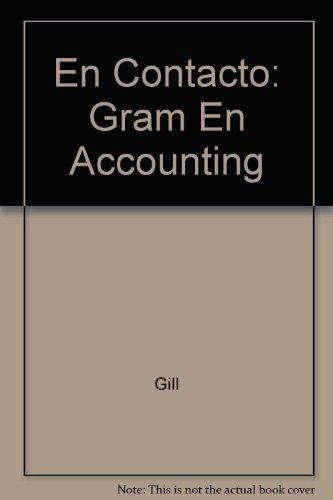 9780030047367: En Contacto: Gram En Accounting
