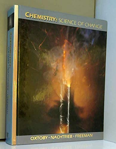 9780030048142: Chemistry Science of Change: Science of Change (Saunders Golden Sunburst Series)