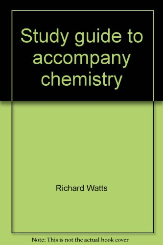 9780030048180: Study guide to accompany chemistry: Science of change by Oxtoby, Nachtrieb, Freeman