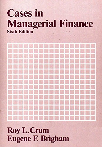 9780030048678: Cases in Managerial Finance