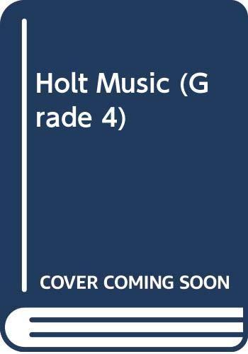 9780030052934: Holt Music (Grade 4)