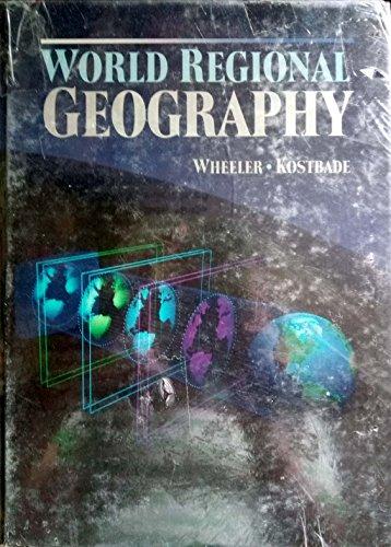 9780030053719: World regional geography (Saunders golden sunburst series)