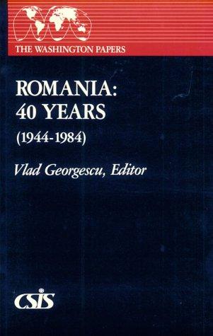 9780030055386: Romania: 40 Years (1944-1984)