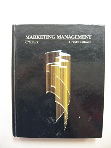 9780030055980: Marketing Management