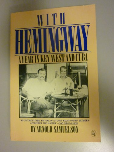 9780030056178: With Hemingway: A Year in Key West and Cuba