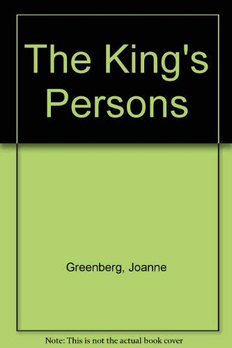 9780030056239: The King's Persons
