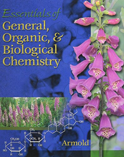 9780030056482: Essentials of General, Organic, and Biochemistry