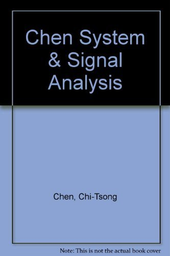 9780030056949: System and Signal Analysis