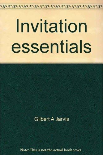 9780030057496: Invitation essentials