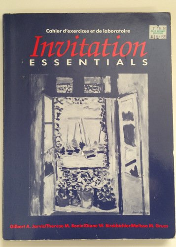 9780030057533: Invitation essentials. Cahier d'exercises et de laboratoire