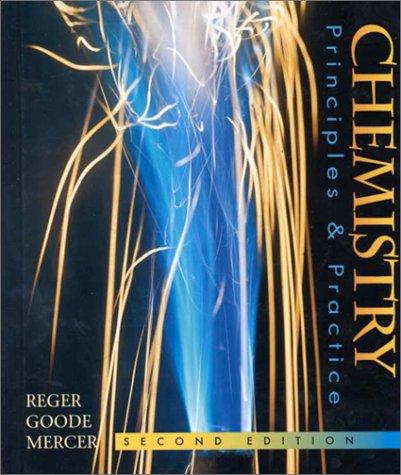 9780030059186: Chemistry: Principles and Practice (Saunders Golden Sunburst Series)