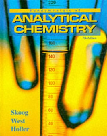 9780030059384: Fundamentals of Analytical Chemistry (Saunders Golden Sunburst Series)