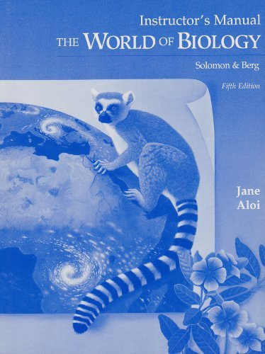 9780030059483: The World of Biology