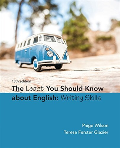 The Least You Should Know about English: Basic Writing Skills Form C