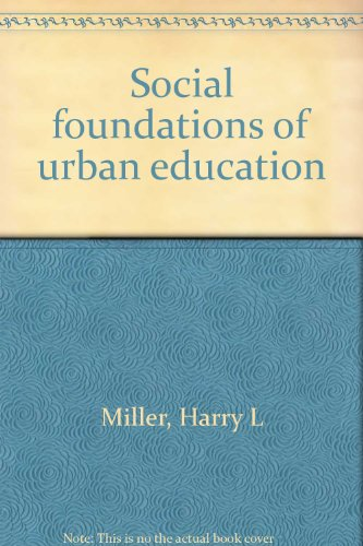 9780030060014: Social foundations of urban education