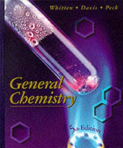 9780030061882: General Chemistry (Saunders golden sunburst series)