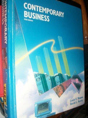 9780030061998: Contemporary Business