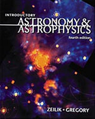 9780030062285: Introductory Astronomy and Astrophysics (Saunders Golden Sunburst Series)