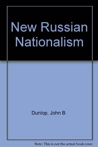 9780030062629: New Russian Nationalism