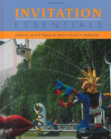 9780030062827: Invitation Essentials