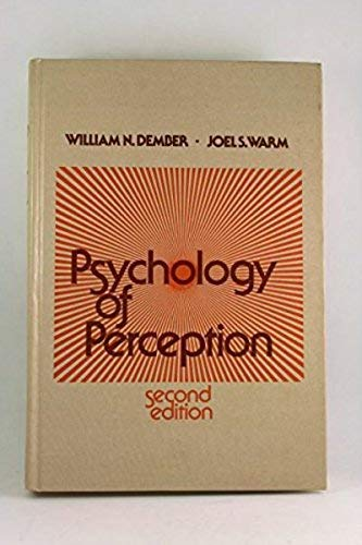 9780030064265: Psychology of Perception