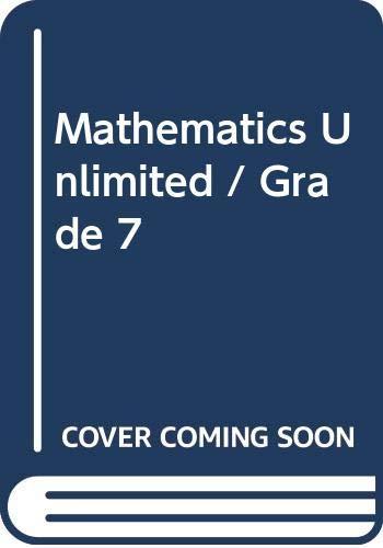 9780030064470: Mathematics Unlimited / Grade 7