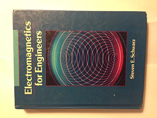 9780030065170: Electromagnetics for Engineers (The Oxford Series in Electrical and Computer Engineering)