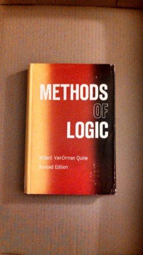 9780030065958: Methods of Logic.