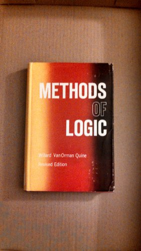 9780030065958: Methods of Logic.